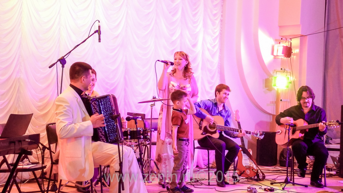 Концерт ансамбля «Марсель» 14 мая 2015 года