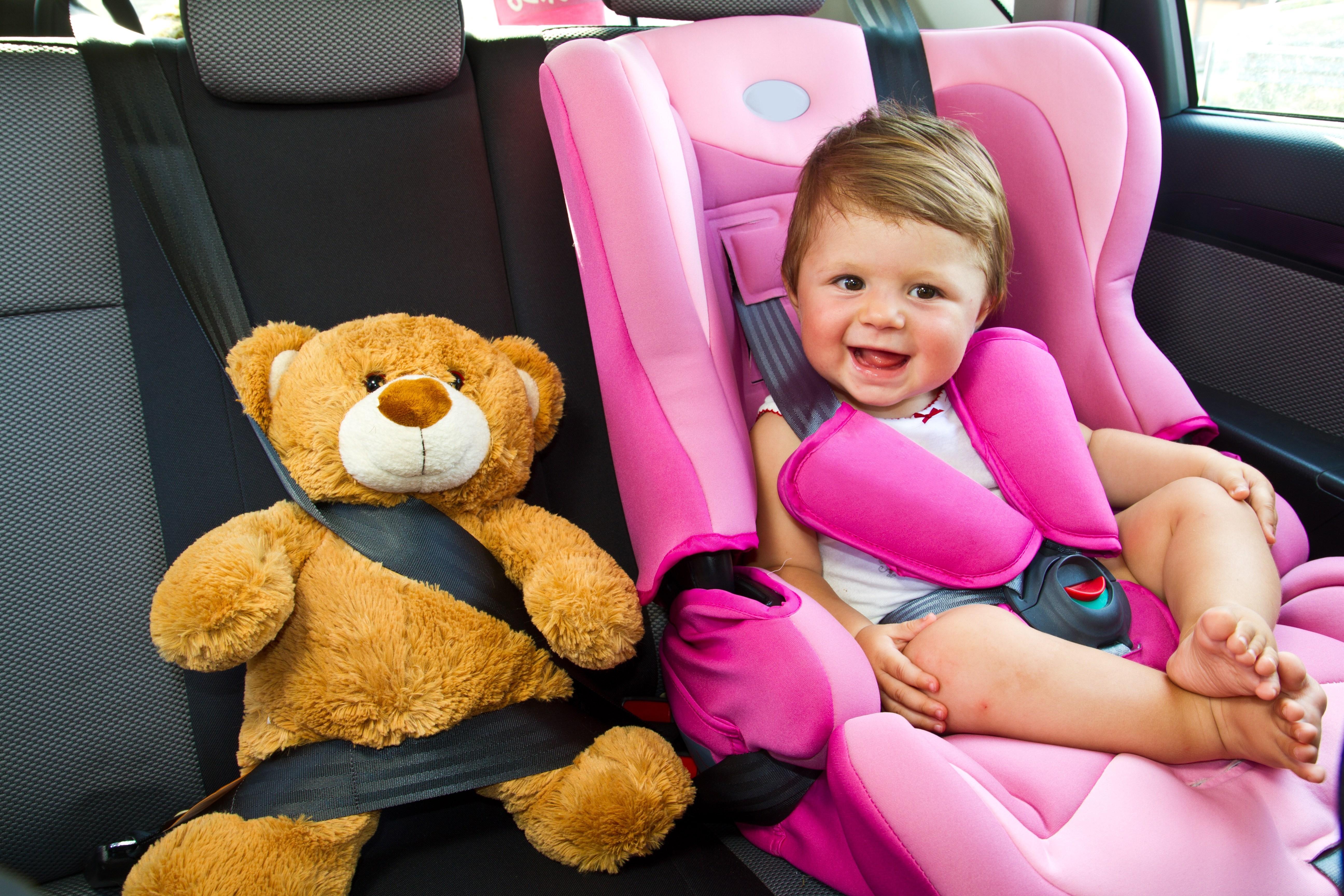 Правила перевозки детей в автомобиле с 3 июля 2017 года.
